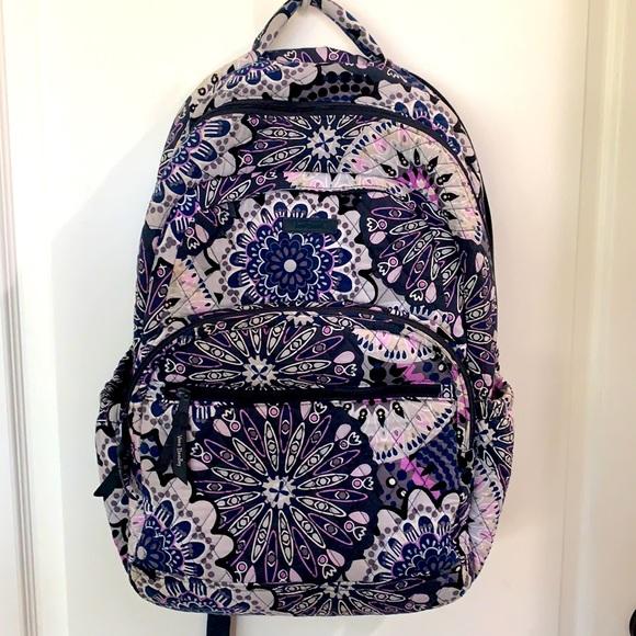 Vera Bradley medallion large essential backpack